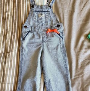 OshKosh Pinestriped Overalls